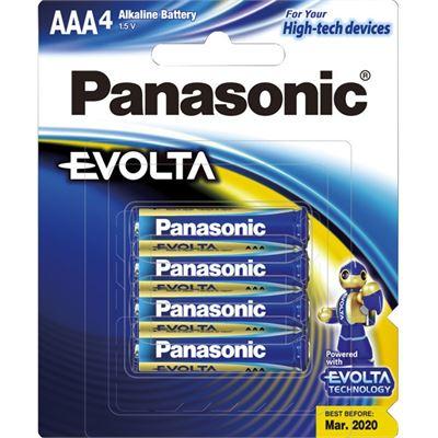 Panasonic Evolta Batteries AAA 4 Pack