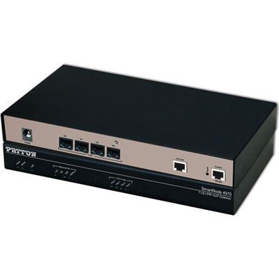 Patton SmartNode 4 T1/E1 PRI VoIP Gateway, 1x GigEthernet, 30 VoIP channels