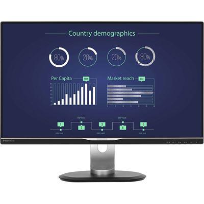Philips BRILLIANCE LCD 25in16:9 HDMI/DP/DVI/VGA/SPEAKERS/H-ADJUST/ VESA