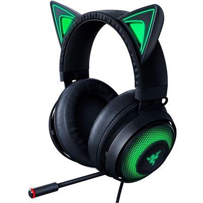 Razer Kraken Kitty - Chroma USB Gaming Headset - Black - FRML Pkg