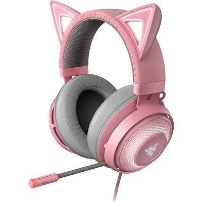 Razer Kraken Kitty - Chroma USB Gaming Headset - Quartz- FRML Pkg