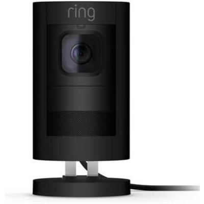 ring Stick Up Camera Wired - Black