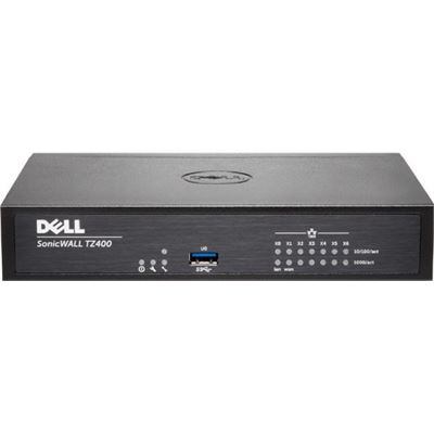 SonicWALL DELL SONICWALL TZ400 WIRELESS-AC InternationalL TOTALSECURE 3YR