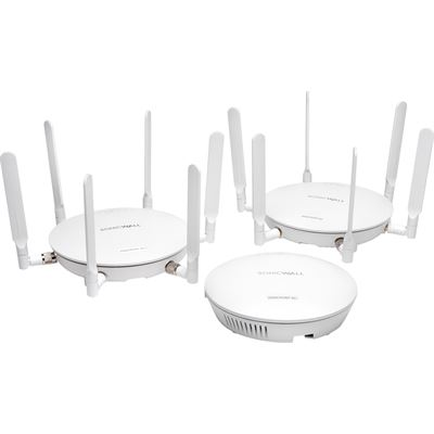 SonicWALL Dell SonicPoInternational ACi w/o PoE Injector 24x7 Support 3YR 4-pack