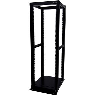 StarTech.com 36U Adjustable 4 Post Server Equipment Open Frame Rack Cabinet