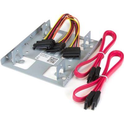 StarTech.com Dual 2.5 SATA Hard Drive to 3.5 Bay Mounting Bracket - 2.5 to 3.5 Hard Drive