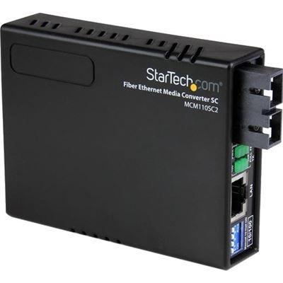 StarTech.com 10/100 FIBER TO ETHERNET MEDIA CONVERTER MULTI MODE SC 2 KM