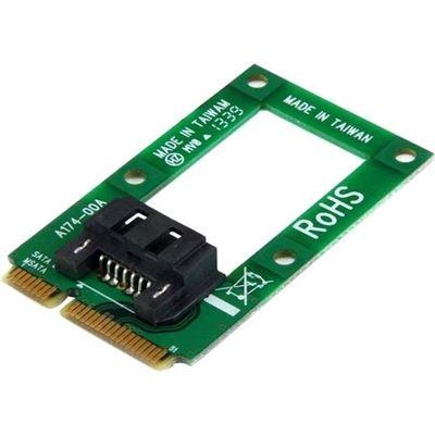 StarTech.com mSATA to SATA HDD/SSD Adapter Mini SATA to SATA ConverterCard - mSATA to SATA