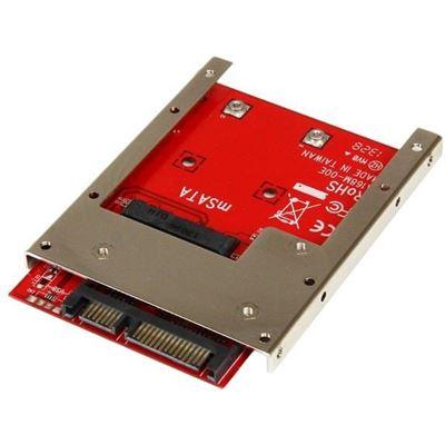 StarTech.com mSATA SSD to 2.5in SATA Adapter Converter - mSATA to SATA Adapter Converter for
