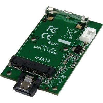 StarTech.com SATA to mSATA SSD Adapter Port Mounted SATA to Mini SATA Drive Converter Card