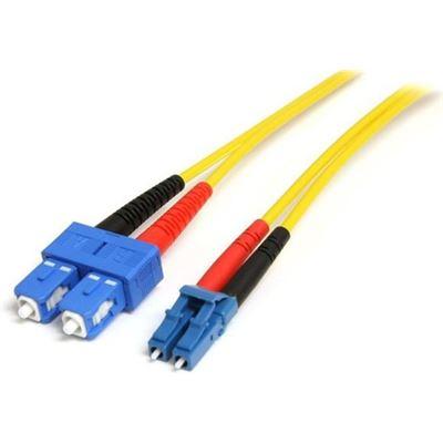 StarTech.com 4m Single Mode Duplex Fiber Patch Cable - LC to SC OS1 Single Mode 9/125 Duplex
