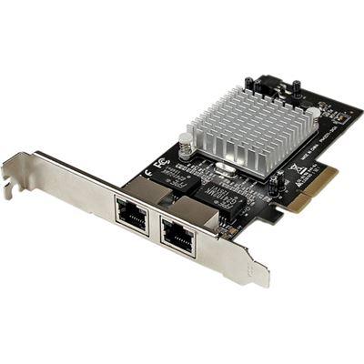 StarTech.com Dual Port PCI Express (PCIe x4) Gigabit Ethernet Server Adapter - 2 Port