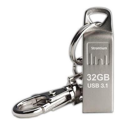 Strontium Technology 32GB AMMO METALLIC USB 3.1 DRIVE
