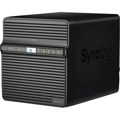 Synology DiskStation DS418j 4-Bay NAS Server, RTD1293 Dual Core 1.4GHz, 1GB RAM, 2x