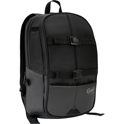 "Targus Grid Carrying Case (Backpack) for 40.6 cm (16"") Notebook - Black - Weather"