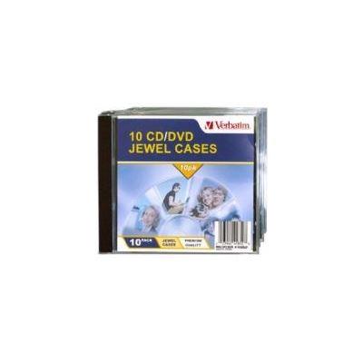 Verbatim CD/DVD 10pk Empty Jewel Cases