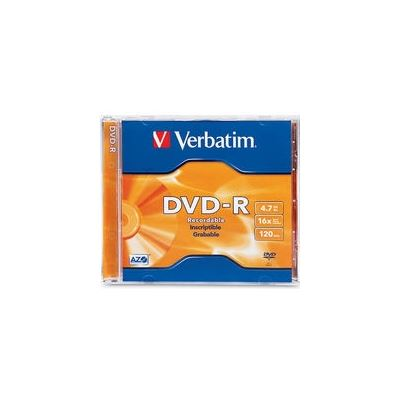 Verbatim DVD-R 1 pack jewel Case 4.7GB 16x