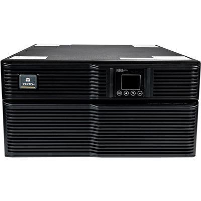Vertiv Liebert GXT4 On-Line 6000VA 230V LCD PF0.8 5U Extended Run Rack/Tower Multilink