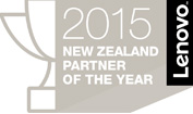 2015 Lenovo New Zealand Partner of the Year