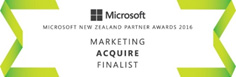 Microsoft Partner Awards 2016 - Marketing Finalist - Acquire