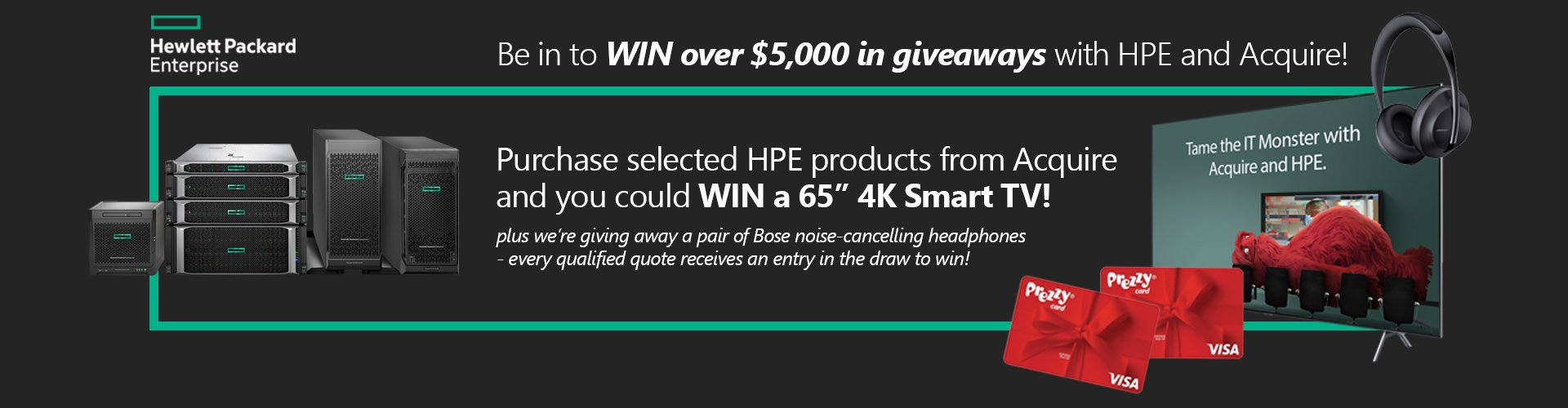 Win with HPE and Acquire